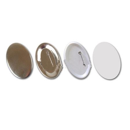 Заготовки для значков   69х45 мм, зеркало,100 шт