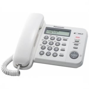 Проводной телефон_Panasonic KX-TS 2356 RUW