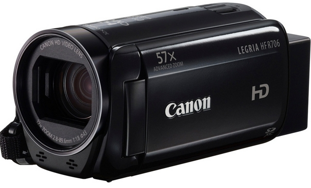 Видеокамера Canon LEGRIA HF R706 black