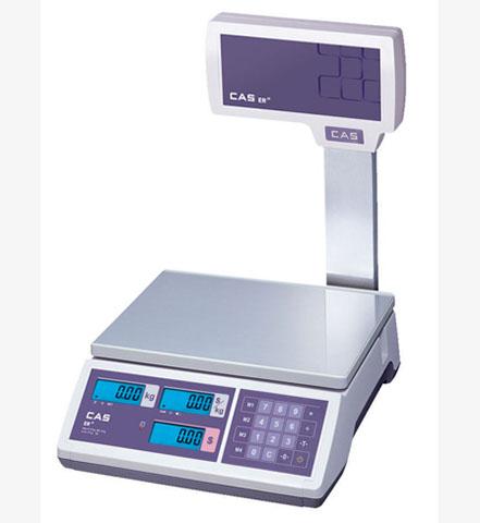 Торговые весы CAS ER JR-15CBU