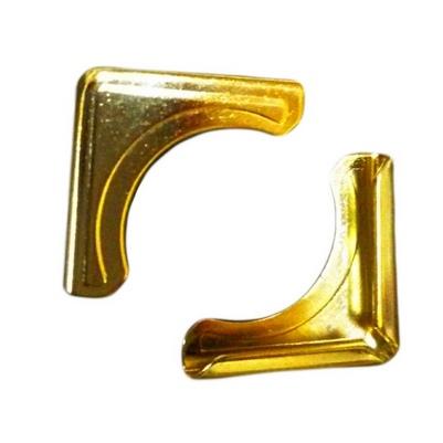 Уголок 14 мм Small Embossed PМ, 3.2 мм (золото) уголок 14 мм m l золото