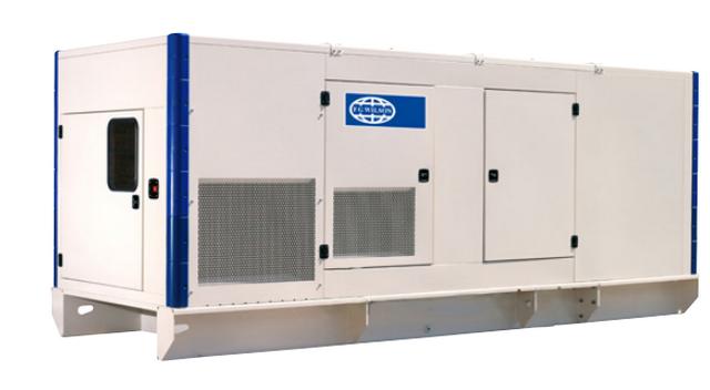 Дизельный генератор_FG WILSON P400-1 кожух от FOROFFICE