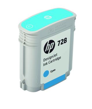 Картридж HP 728 F9J63A (cyan), 40 мл картридж hp 728 f9j63a cyan 40 мл