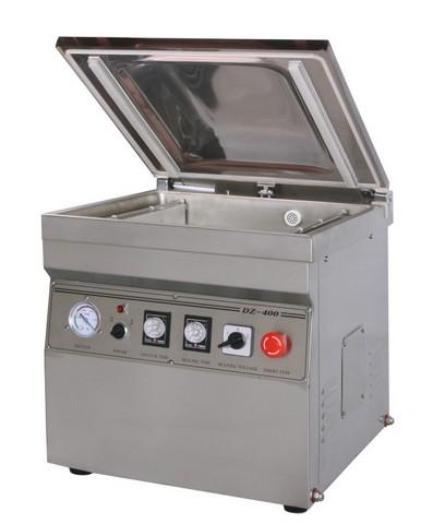 Настольная вакуум-упаковочная машина HL DZ-400/2T (нерж.)