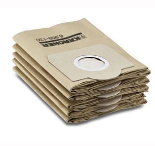 Karcher Бумажные фильтр мешки для А 2254,2206,2236, SE 4002, WD3.300, WD3.500P цена и фото
