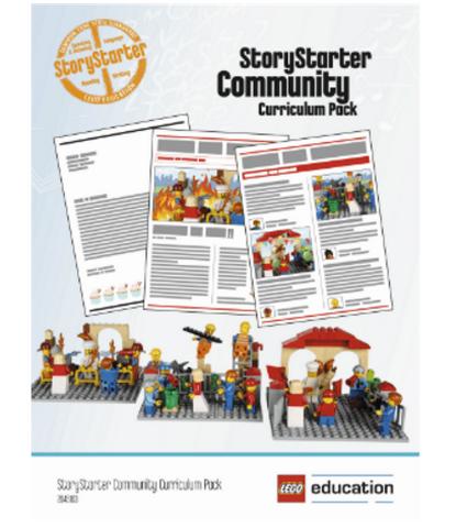 Комплект учебных материалов Lego StoryStarter Построй свою историю. Городская жизнь