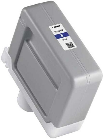 Картридж   PFI-1300B (синий) картридж canon pfi 706 b для ipf8400 9400 синий