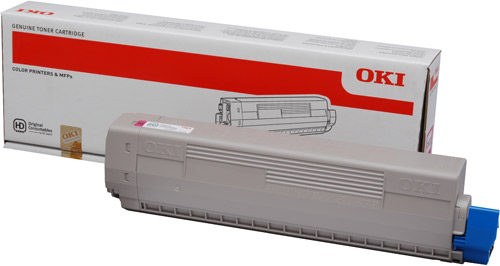 Тонер-картридж TONER-M-C831/841/C831DM-10K (44844506)