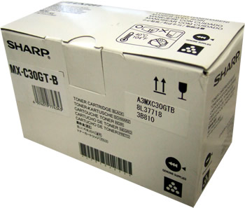 Тонер-картридж MX-C30GTB тонер картридж sharp mx23gtba для mx 1810 2010 2310 3111 black