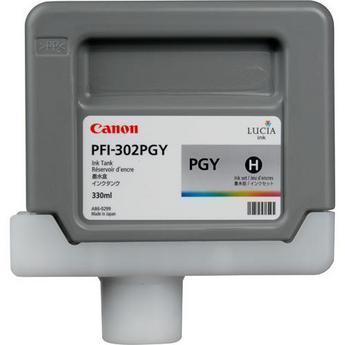 Картридж Canon Photo grey PFI-302PGY (фото серый) пигментный