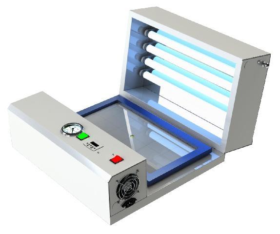Экспокамера Nisaya UV 400 (4 лампы)