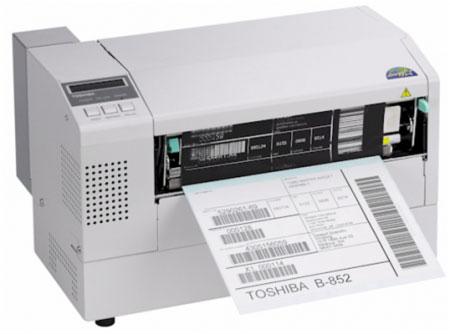 Принтер этикеток Toshiba B-852