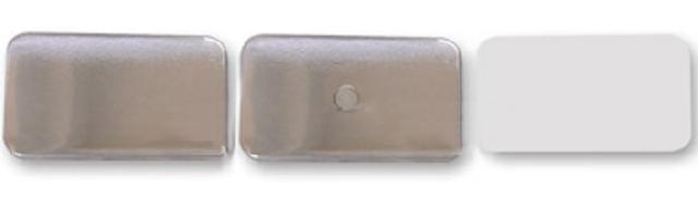 Заготовки для значков   25х70 мм, магнит, 100 шт