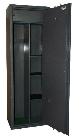 Оружейный сейф_Safetronics MAXI-5PME/K3 Компания ForOffice 30541.000