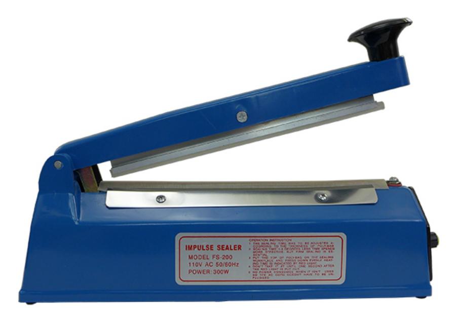 Ручной импульсный запайщик FS-200 (пластиковый корпус) ручной импульсный запайщик fs 200