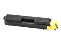 Тонер-картридж TK-590Y картридж kyocera tk 590y желтый