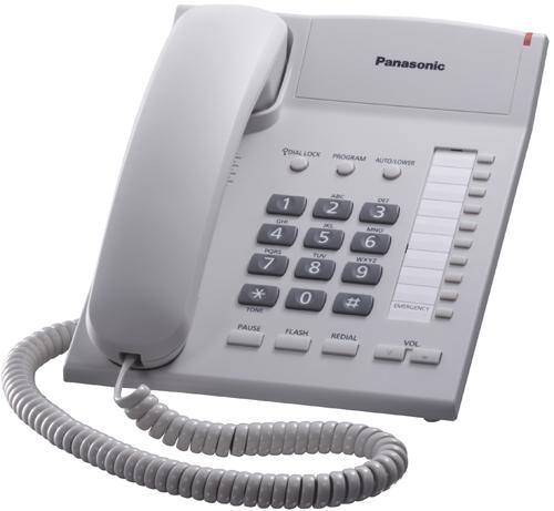Panasonic KX-TS2382RUW телефон panasonic kx ts2382ruw белый