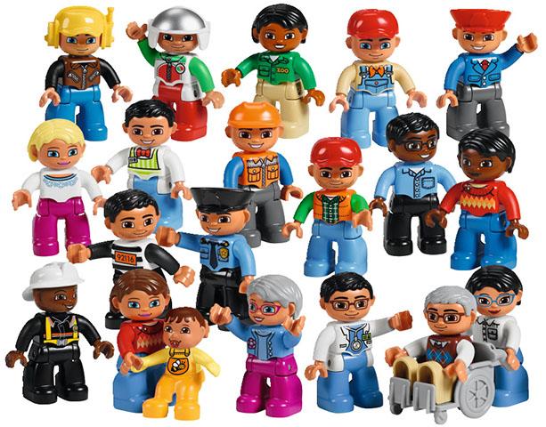 Городские жители Lego Duplo
