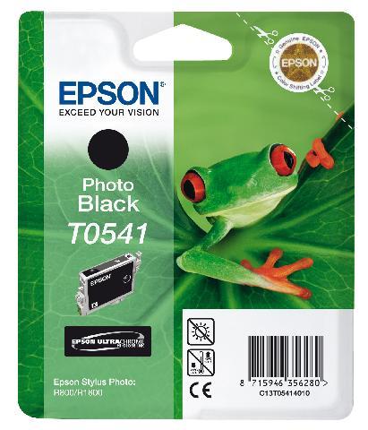 Фото - Картридж с черными фото чернилами T0541 (C13T05414010) картридж повышенной емкости с черными фото чернилами t8041 c13t804100