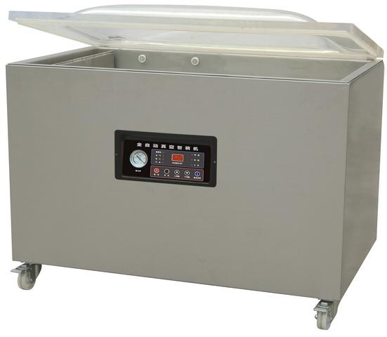 Напольная однокамерная вакуум-упаковочная машина HL DZQ-1100/2L (нерж., газ)