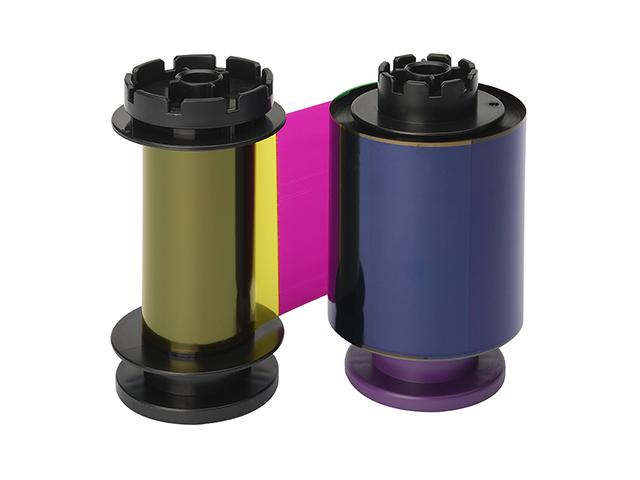 Полноцветная лента Evolis YMCFK RT5F014NAA evolis avansia duplex expert smart