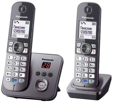 Радиотелефон_Panasonic KX-TG6822RUM
