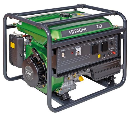 Бензиновый генератор_Hitachi  E57