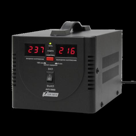 Стабилизатор напряжения_Powerman  AVS 500D black