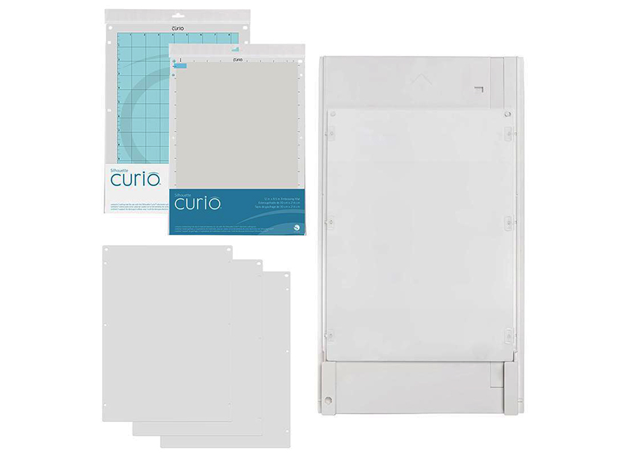 Большая основа (21.5 x 30.4 см) для плоттеров Silhouette Curio newest graphtec cb09 silhouette cameo holder 15pcs blades vinyl cutter plotter 30 degree hot sale