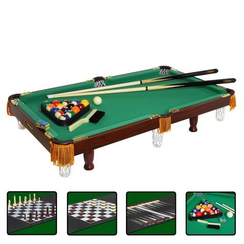 Игровой стол_Многофункциональный Fortuna американский пул (4 в 1)