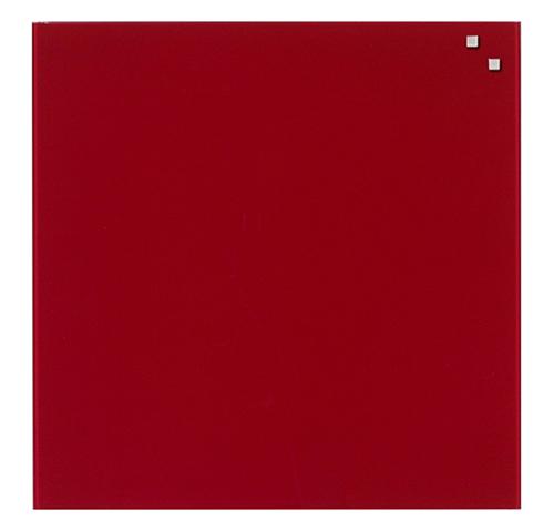 Стеклянная доска_Naga 100x100 Red (10120)