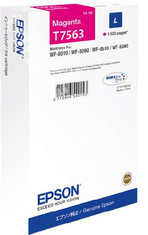 Контейнер с чернилами Epson C13T756340