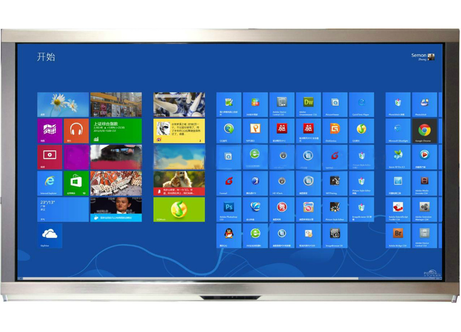 LED Interactive xPower UHD TV 65 + PC (TVI65H2) audioclassic xpower