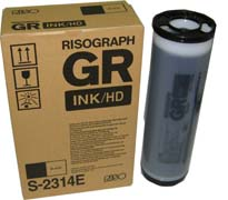 Краска черная RISO Kagaku GR 3770 (S-2314), 1000 мл