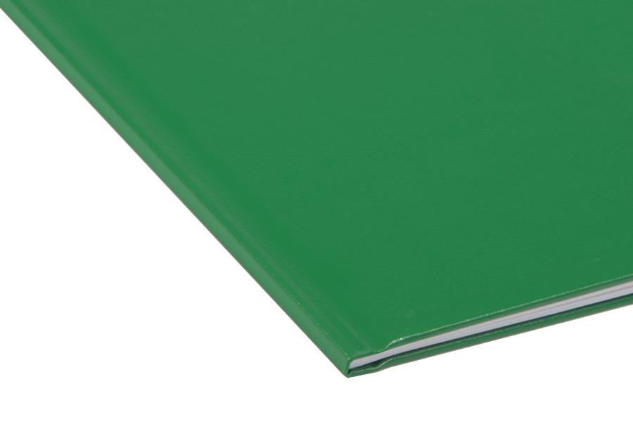 Папка для термопереплета , твердая, 15, зеленая