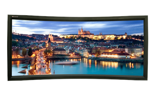 Проекционный экран_Lumien Cinema Home Curved 148x252 MW (LCH-100110)