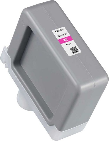 Картридж PFI-1100M (пурпурный) картридж canon pfi 1100m magenta 160ml 0852c001