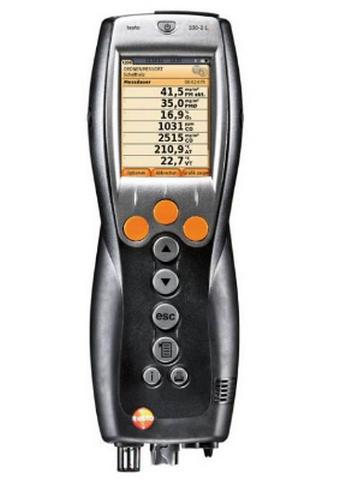 Анализатор дымовых газов 330-2 LL (Комплект NOx) анемометр testo 417 1 комплект