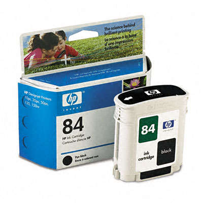 Картридж HP Inkjet Cartridge №84 Black (C5016A) картридж hp inkjet cartridge 90 black c5058a