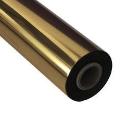Фольга   Gold 101, Рулонная, 210 мм, 120 м, золото