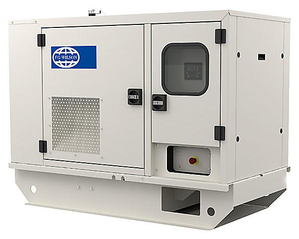 Дизельный генератор FG WILSON P16.5-6S кожух