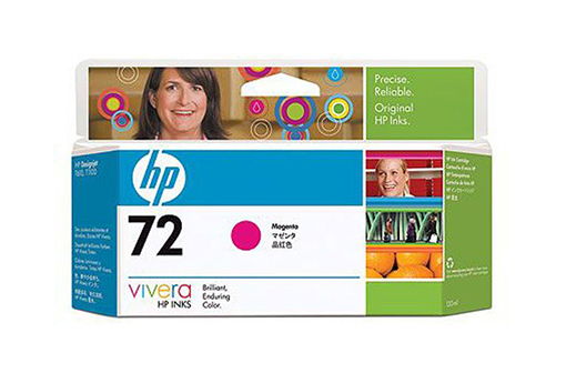 Картридж HP Pigment Ink Cartridge №72 Magenta (C9372A) картридж струйный hp 72 c9372a пурпурный для hp dj t1100 t610 130мл