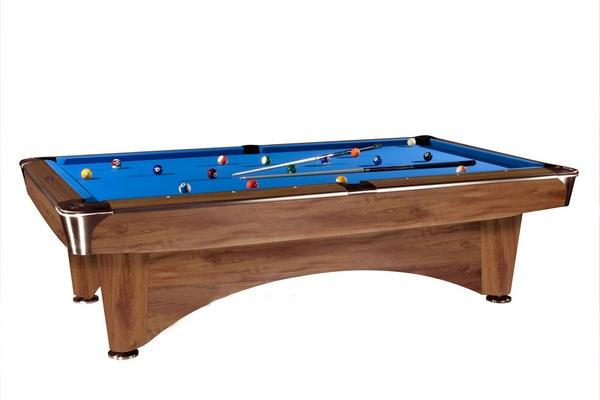 Бильярдный стол Американский пул Dynamic III (9 футов, коричневый)
