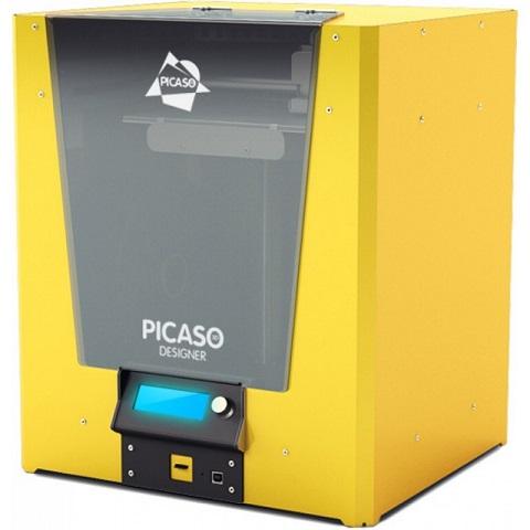 3D принтер_Picaso 3D Designer (желтый)