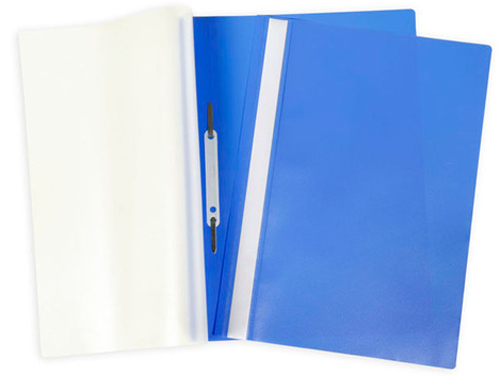 Папка-скоросшиватель A4 Attache с прозрачным верхом, синяя Компания ForOffice 7.000