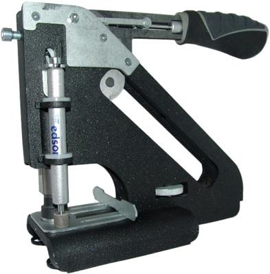Пресс для установки люверсов АL с насадками на 10 и 12 мм (два одновременно работающих штока для пробивки и для люверса) Компания ForOffice 13000.000