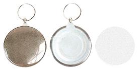 Заготовки для значков d58 мм, брелок/зеркало, 100 шт заготовки для значков d58 мм пластик булавка 100 шт