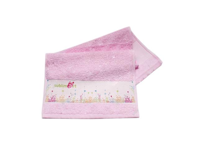Полотенце розовое для сублимации и термопереноса Компания ForOffice 130.000