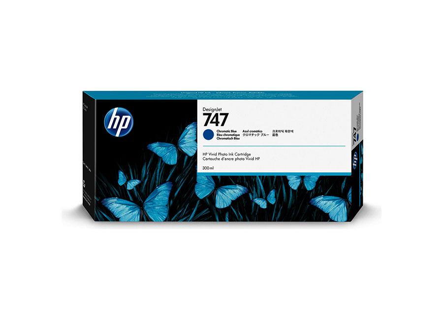 Картридж HP 747 Designjet Chromatic blue (P2V85A) hot sales 80 printhead for hp80 print head hp for designjet 1000 1000plus 1050 1055 printer