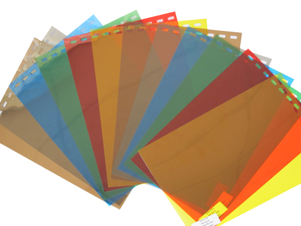 Обложки пластиковые, Прозрачные без текстуры, A3, 0.20 мм, Синий, 50 шт